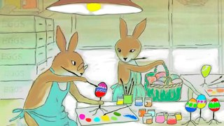 The Easter Egg Artists story for Kids about a family of rabbits STORIES AND TALES