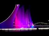 Шоу танцующих фонтанов. Олимпийский Сочи-парк, 9 мая 2018.