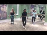 Kanti &amp Riko Ft. Farruko y Zion - Bonita Bebe Reggaeton choreo by Karina Chu (with my beginners)