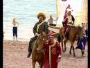 2006г Открытие праздника в Ангарской деревне с участием театра Народной драммы города Иркутска