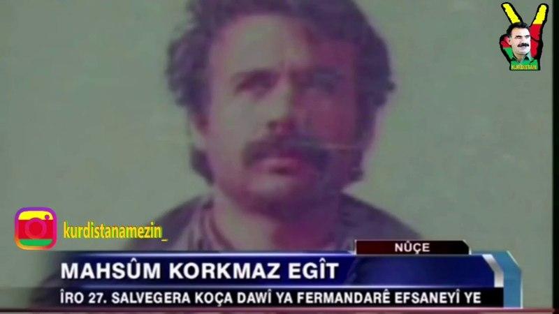 День памяти Махсум Коркмаз (псевдоним Агит) MAHSUM KORKMAZ(ÊGIT) 27 selvegera