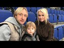 Новость о том что Яна Рудковская супруга российского фигуриста Евгения Плющенко воспитывает их об