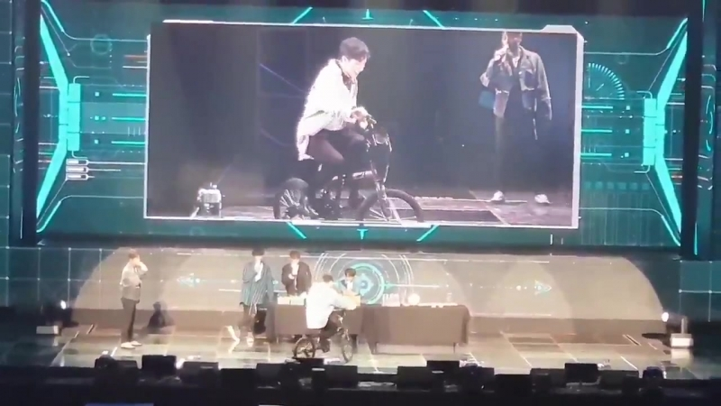 Highlight Fan Meeting in Seoul 2018 - Gi Kwang Small Bicycle Challange