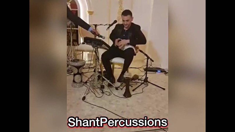 فاصل عزف خشبه عراقي ، العازف شانت Shant Percussions khishba