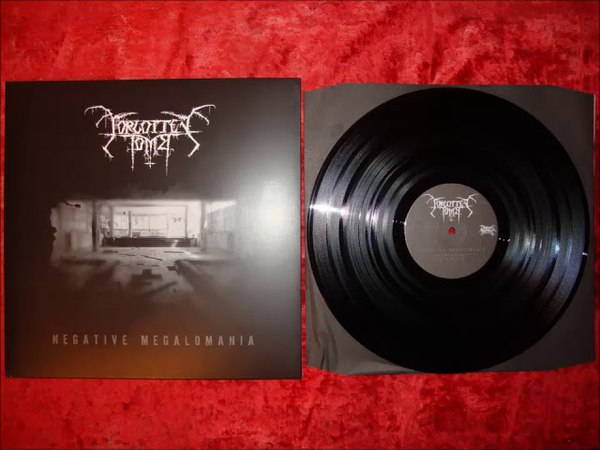 Forgotten Tomb - Negative Megalomania (Full Album 2007) VINYL RIP