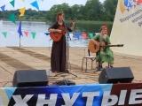 Когда рассвет за окнами встаёт - исп. Ирина Клейман на фестивале Распахнутые ветра. 28.07.2017.