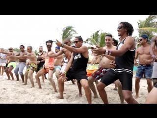 Having fun at the beach! ritmo cuba festival