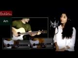 Хочешь - ЗЕМФИРА _ Как играть на гитаре (3 партии) Аккорды, табы - Гитарин и Нар