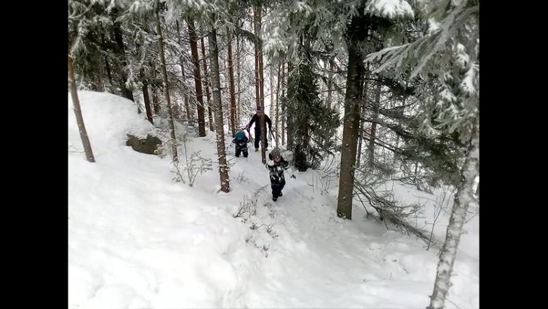 Идём на лыжную прогулку, 10.01.2018 Suomi