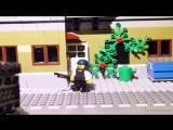 Приключения LEGO-человечков в PUBG продолжаются! Кто же получит заветную курочку на обед? 🍗