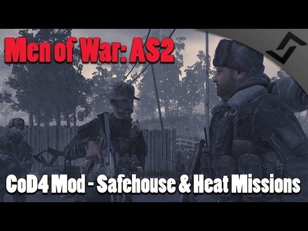 Men of War: Assault Squad 2 - CoD4 Mod - Safehouse Heat Missions