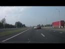 Ритмический занос на асфальте _ Skoda Octavia _ Квадрат скорости