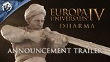 Europa Universalis IV: Dharma - Announcement Trailer