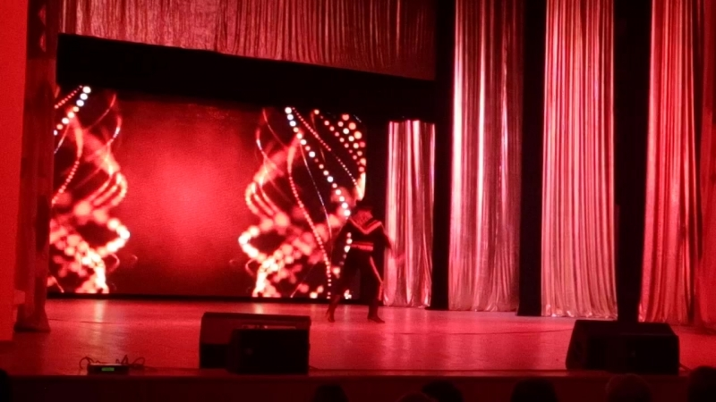 Аргентинский танец Огненные шары. Алия Нургалеева