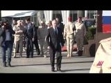 Асад и Путин на авиабазе «Хмеймим» в Сирии