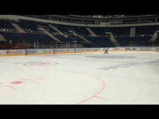 Владимир Денисов на льду
