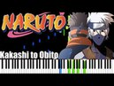 Kakashi to Obito - Naruto Shippūden [Piano Tutorial] Synthesia