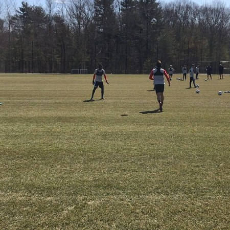 "New England Revolution on Instagram: ""⚽️🤹🏼‍♀️Watch @nicosam95 and @luiscaicedooficial have a little fun during a warm and sunny morning training se..."