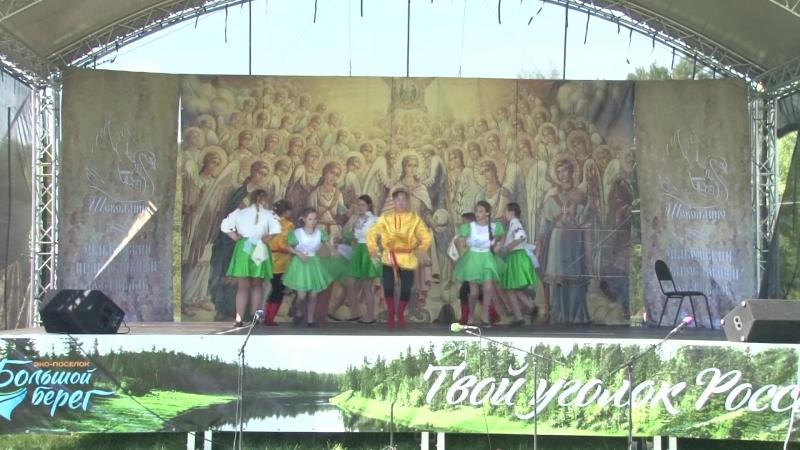 Танец «Порушка-Поранья» Танцевальный коллектив «Каблучек», Княжегорская СОШ Зубцовский район