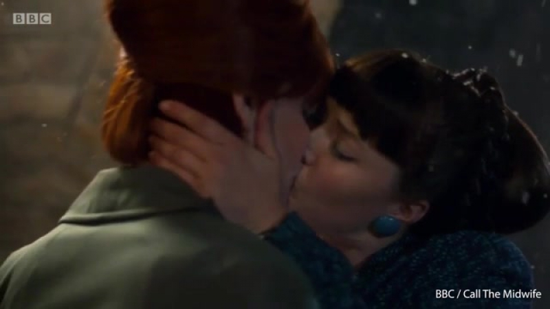 Patsy and Delia shared a passionate kiss in Finale Season 6 of Call the Midwife