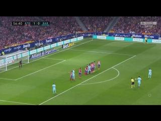 Испания ЛаЛига Атлетико - Барселона 1:1 обзор  HD