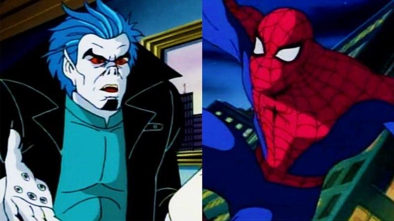 Человек паук против Морбиуса (1994 Мультсериал)