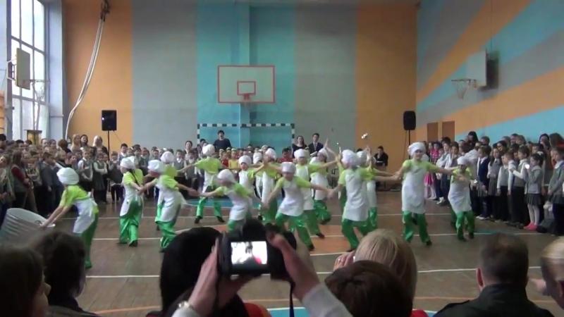 Dance show 116 3-А класс Танец Поварята (Варись, кашка!)
