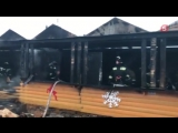 Пожар на петербургской новогодней ярмарке