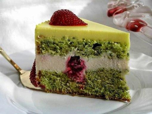 мятный торт рецепт