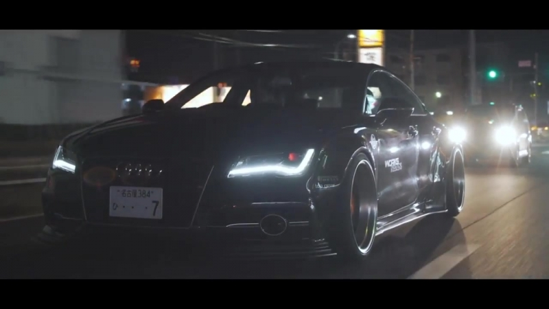 CARS VIP EXC}}CARSAUTO__Audi S7 Liberty Walk HD__Night Lovell - Deira City Centre{{{ MUZICCARS AUTO