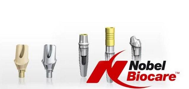 Зубные имплантаты Nobel Biocare