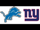 NFL 2017-2018 / Week 2 / 18.09.2017 / Detroit Lions @ New York Giants