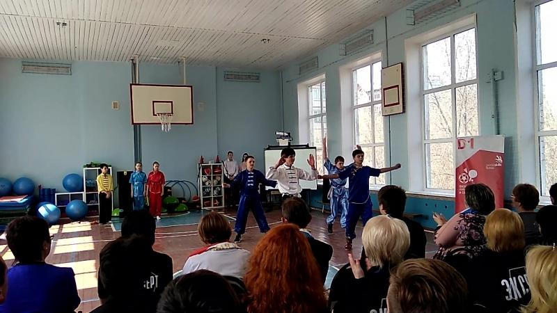 Выступление учеников Кузиной М.М. на открытие worldskills Russia