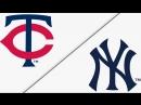 AL / 25.04.2018 / MIN Twins @ NY Yankees (3/4)
