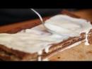 TRASHFOOD_ торт с арахисовой пастой
