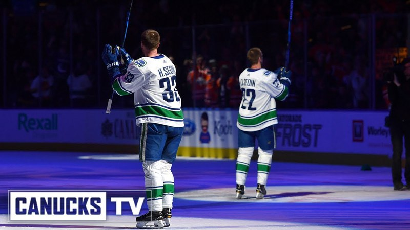 Daniel and Henrik Sedin's Final NHL Game - Behind-the-Scenes