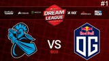 Newbee vs OG RU #1 (bo3) DreamLeague Season 9 Minor 23.03.2018