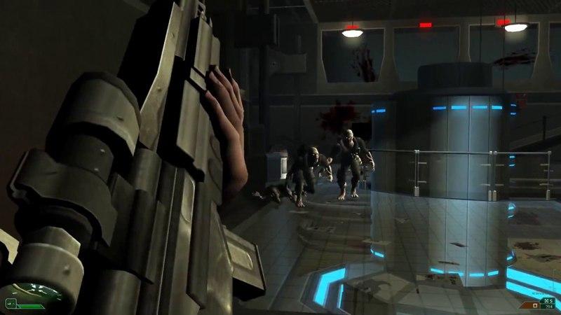 Вырезка из прохождения игры Area 51 by JustTomcuk