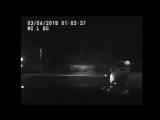 В США пьяный водитель сбил сам себя, когда убегал от полиции, ДТП