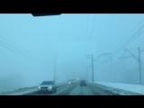 Туман в Перми 29 декабря 2017
