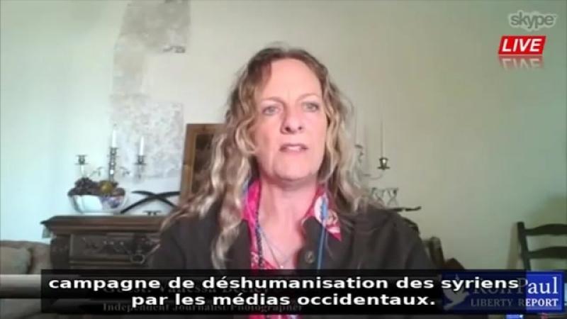 Alep - Lintox monstrueuse dénoncée par une journaliste britannique !