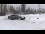 Зимний дрифт на Volvo s80 V8 AWD