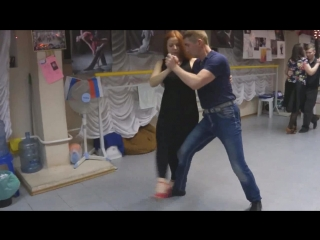 практивка танго 04.03.18 -2 Володя и Женя