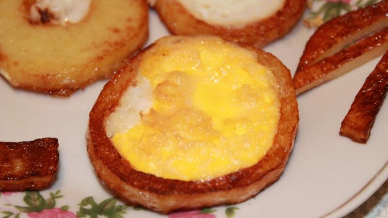 Омлет с картофелем - Рецепты. Кулинарные рецепты Ну, оОчень вкусный Tortilla de Patata.