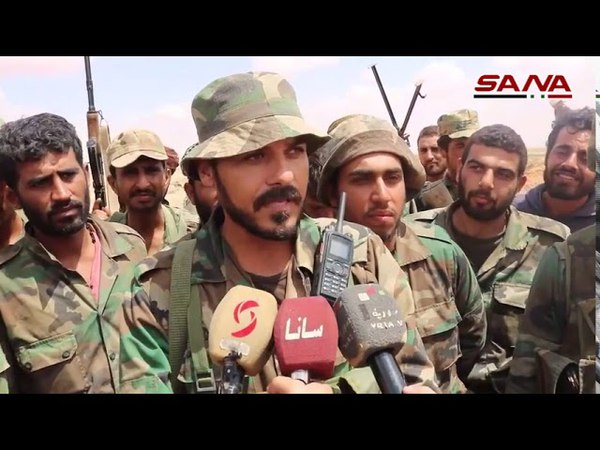 The army is chasing the remnants of a terrorist calling in the desert of Deir al-Zour and regaining control of 1500 square kilometers