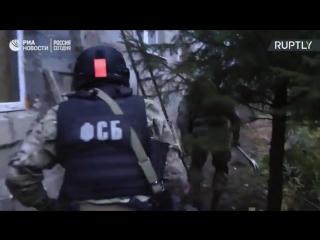 ФСБ задержала восемь международных террористов в Татарстане: видеокадры спецоперации