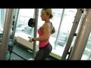 Делаем красивые плечи с Катей Усмановой.! Фитоняшки бикини, фитнес, fitnes, бодифитнес, фитнесс, silatela, и, бодибилдинг, пауэр