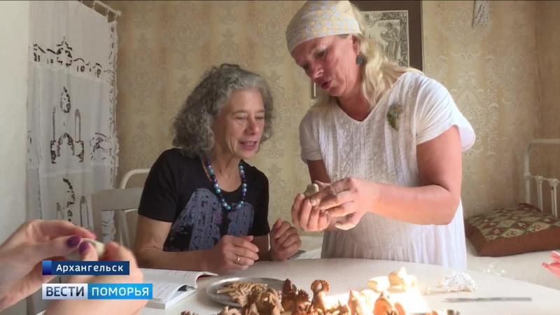 В Кегостров приехала кулинарный писатель из Америки Дарра Голдштейн