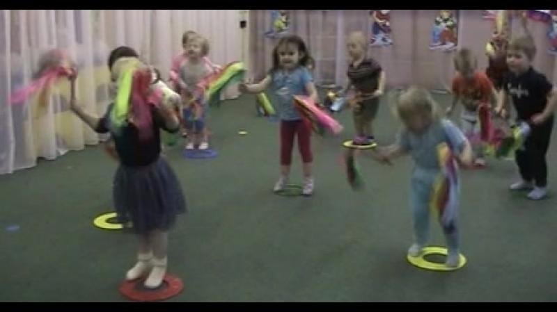 ОРУ в форме ритмической гимнастика
