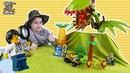Мир мальчишек • ДАНЯ и ЛЕГО СИТИ передвижная лаборатория в джунглях! Часть 2.